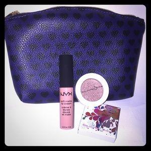 NYX Makeup and bag bundle